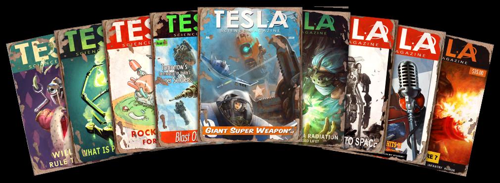 Tesla Magazine collage.png