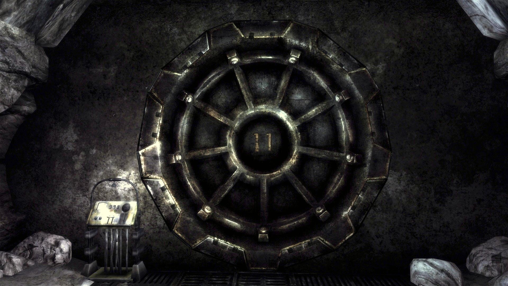 Vault 11 door
