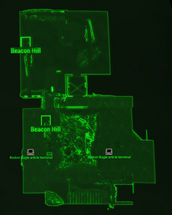 Boston Bugle building loc map