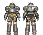 CC-00 power armor Railroad paint