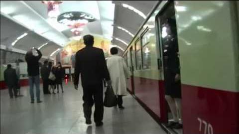 DPRK Pyongyang Metro