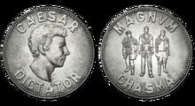 FNV Legion silver coin