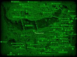 FO4 Бриджуэй Траст (карта мира)