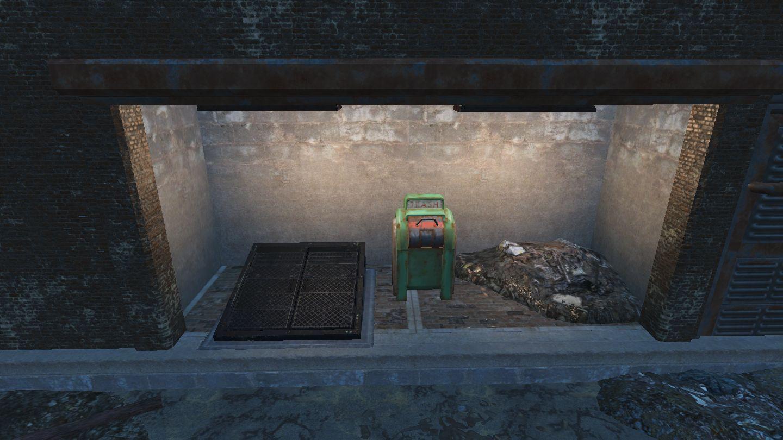 FO4 Hardware Town cellar entrance