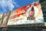 FO4 Nuka Cola rocket shape poster