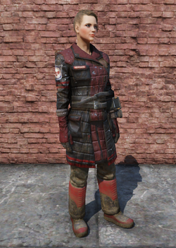 FO76 Fire Breather Uniform Female