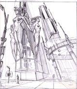 Fo3 Architectural Concept Art 09
