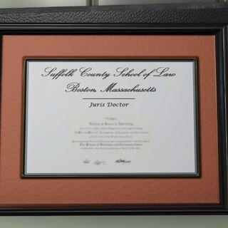 Law school diploma