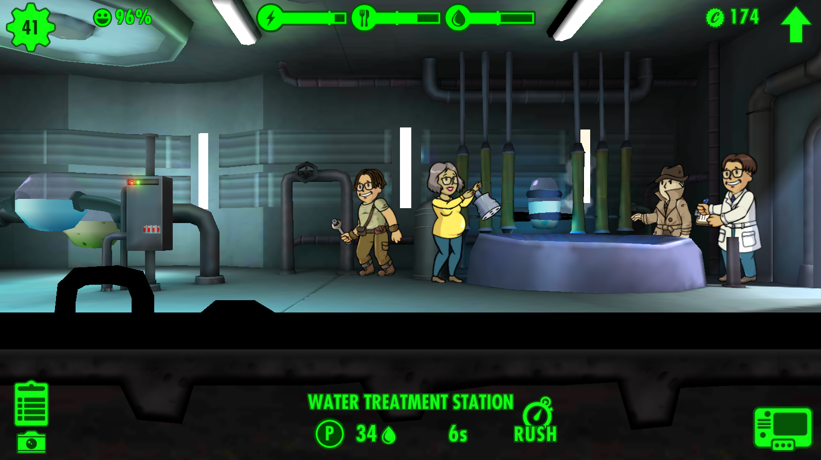 Fallout Shelter Rooms Wiki Fandom Powered By Wikia Inside A Nuclear Power Plant Diagram