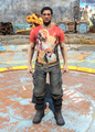 Nuka-Cola t-shirt & cargo pants male.png