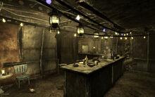 The Brass Lantern Interior behind the bar