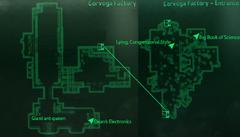 Corvega factory map