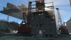 FO4 Cambridge construction site
