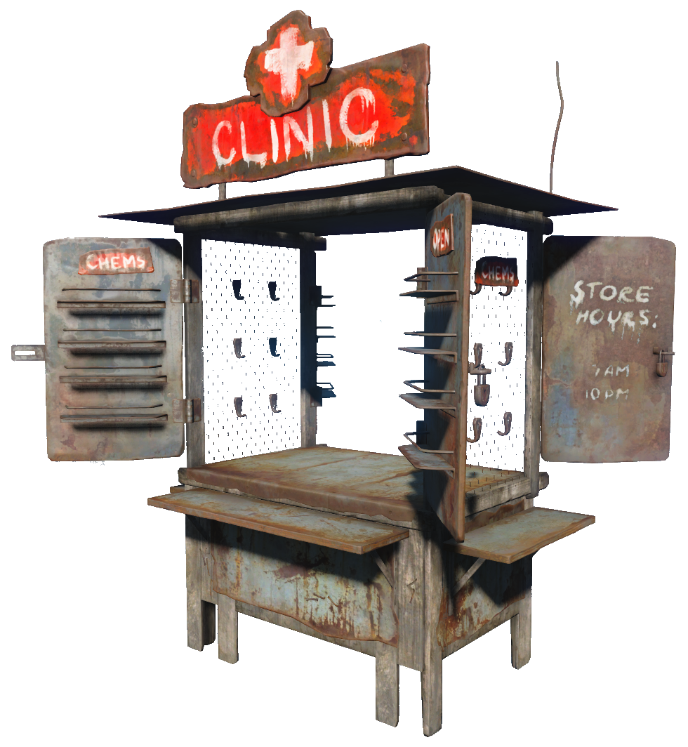 First Aid Station Fallout Wiki Fandom Powered By Wikia
