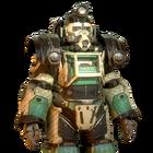 FO76 Atomic Shop - Arktos Excavator Skin