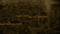 The Fort map
