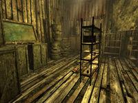 CC shack interior