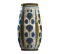 Empty floral rounded vase.png