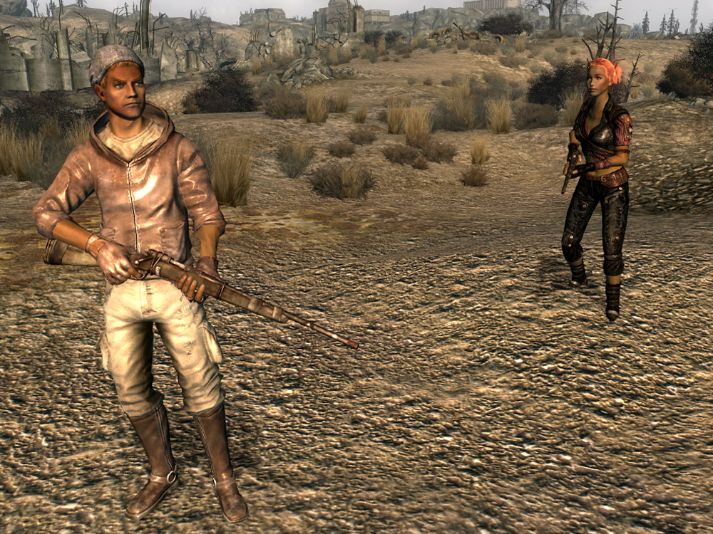 Escaped slave (character) | Fallout Wiki | FANDOM powered ...