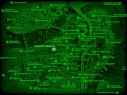 FO4 Корпорация «ГаллюциГен» (карта мира)