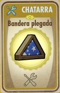 FOS Bandera plegada carta