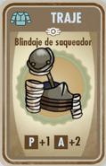 FOS Blindaje de saqueador carta