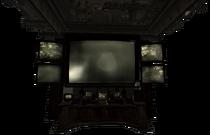 Hidden console screen Lucky 38 basement