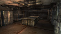 Mess hall & munitions storage kitchen