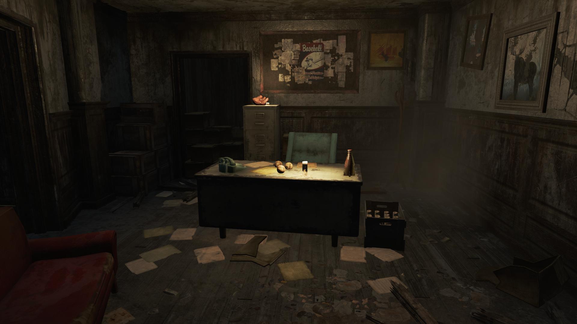 Prost bar office desk