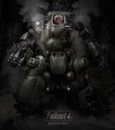 Sentry Bot Internal Cross Section Poster