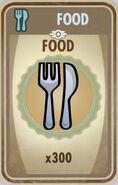 300 Food card
