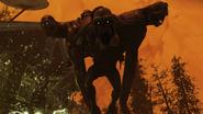 Colossus staredown