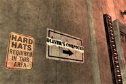 FNV Oliver's compound sign