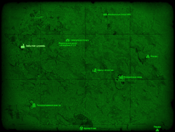 FO4 Забытая церковь (карта мира)