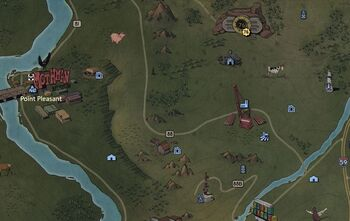 FO76 Power Armor Map Forest Central East