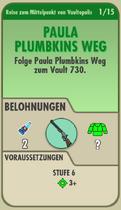 FOS - Questkarte - Reise zum Mittelpunkt von Vaultopolis - 1 - Paula Plumbkins Weg - Front