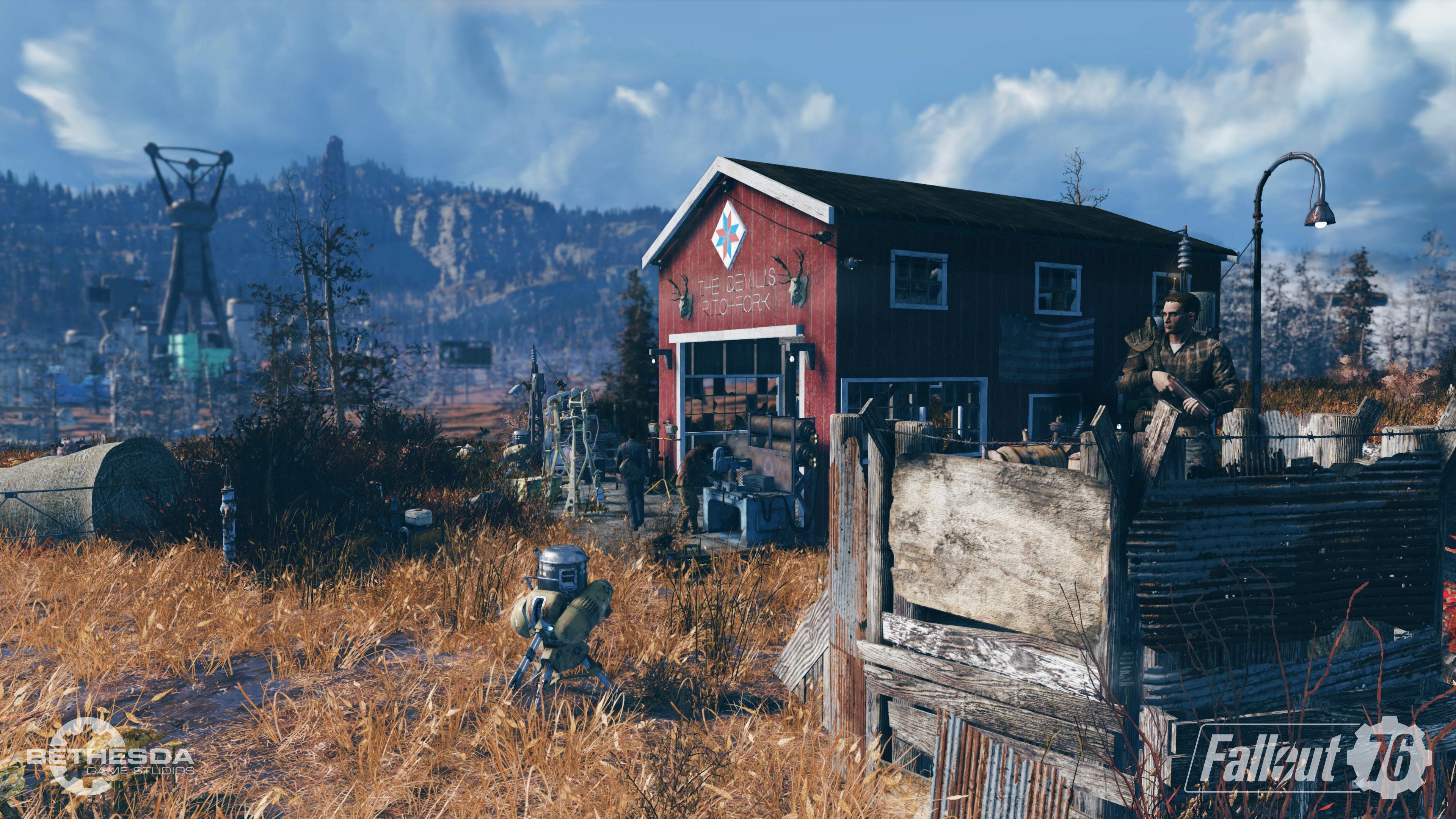 Fallout76 E3 Camp