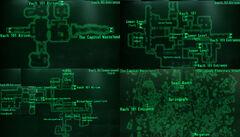 Vault 101 local map