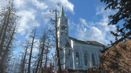 FO4FH Ruined church2