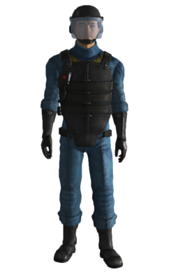 Fo3 Vault 101 security armor