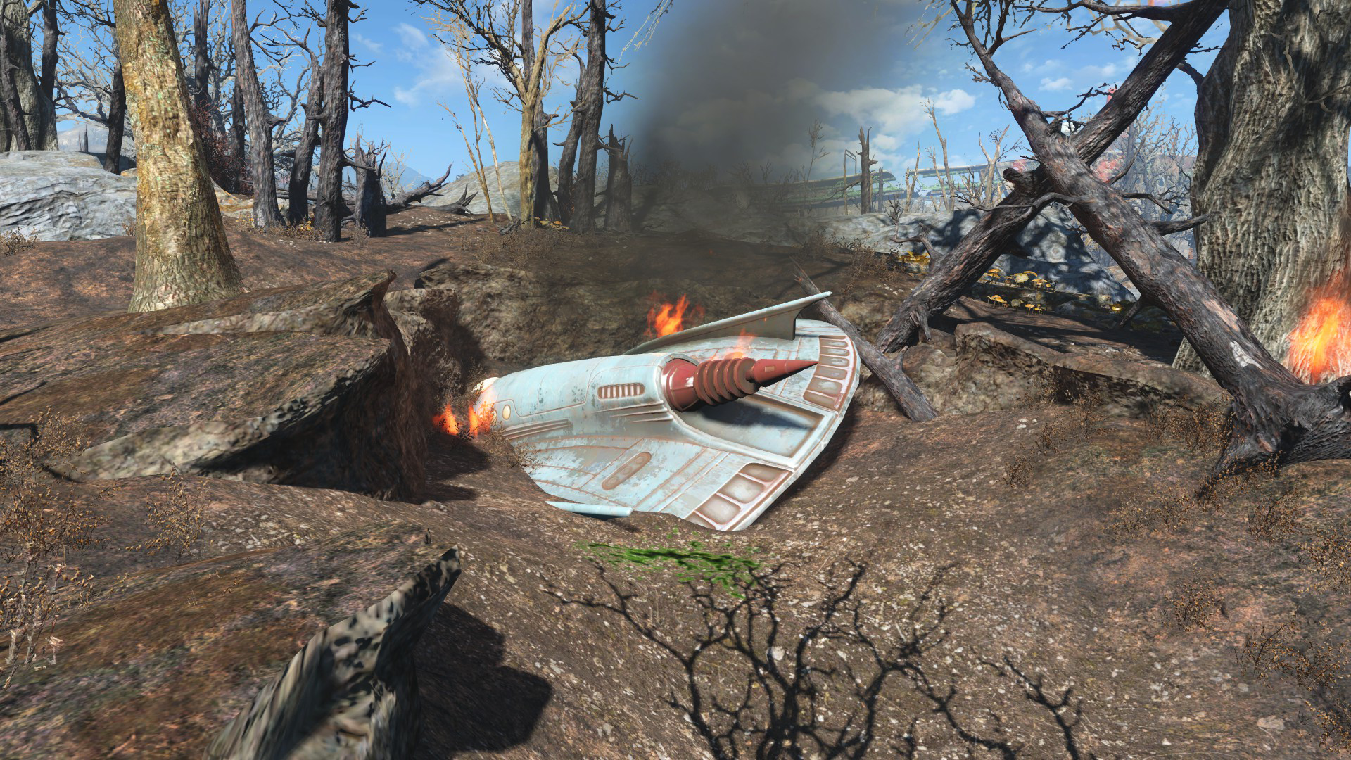 UFO crash site | Fallout Wiki | FANDOM powered by Wikia