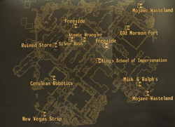 Freeside map