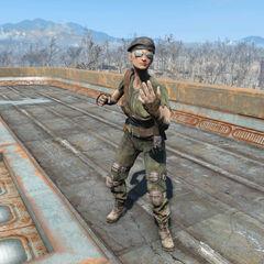 Командир стрілків під час квесту