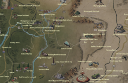Monongah Power Plant map