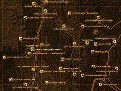 FNV Карта ПАЛАТКА НКР