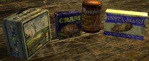 FNV Caravan lunch ingredients