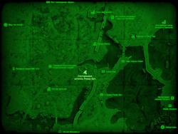 FO4 Спутниковая антенна Ревир-Бич (карта мира)