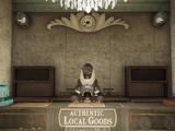 Торговец в торговом центре