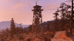 FO76 Central Mountain lookout