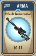 FOS Rifle francotirador carta